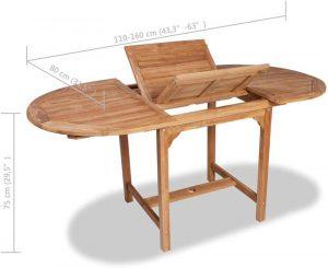 meilleure table en teck