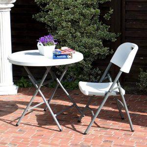 meilleure table ronde de jardin